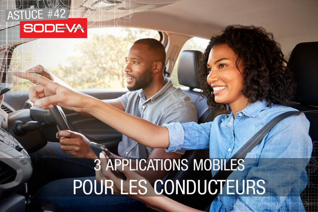 applications mobiles pour conducteurs