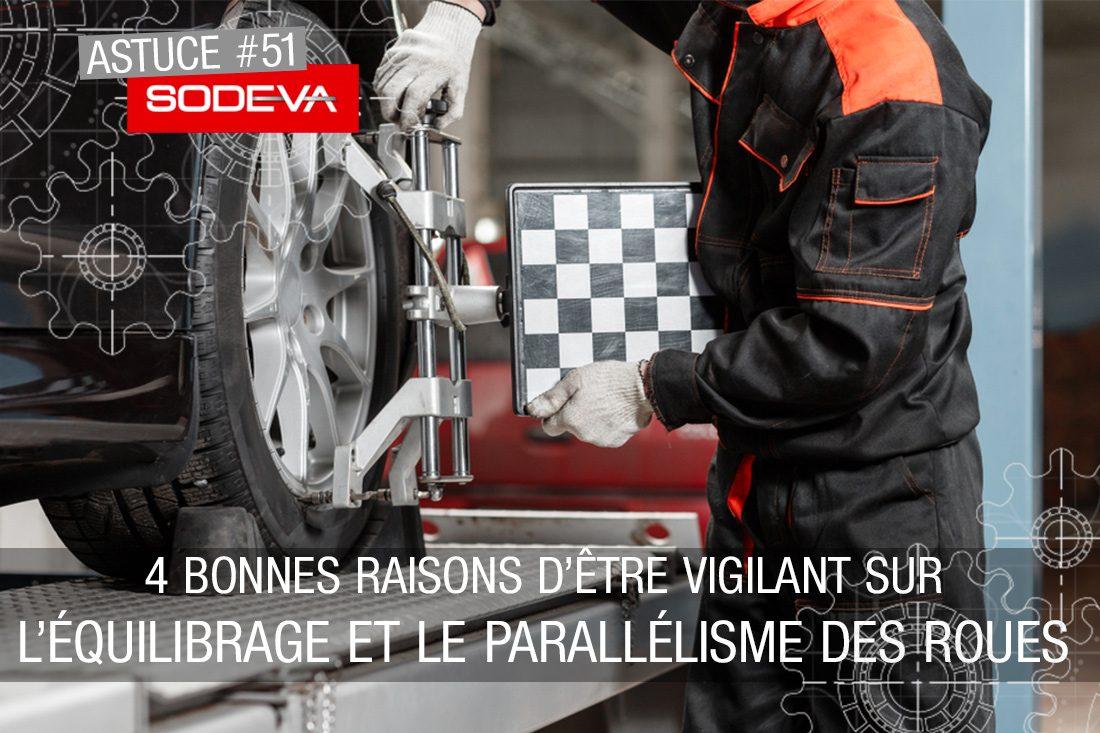 4 bonnes raisons d'être vigilant sur l'équilibrage et le parallélisme des roues