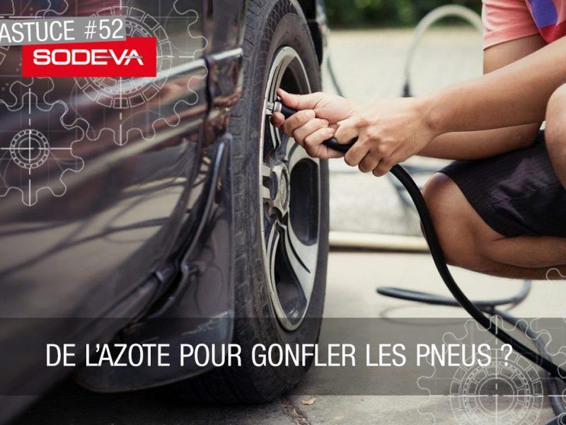 De l'azote pour gonfler les pneus ?