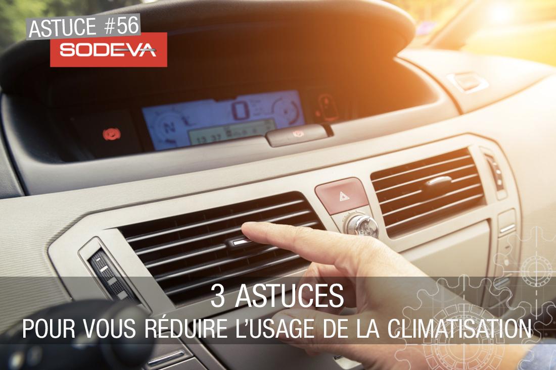 3 astuces pour vous réduire l'usage de la climatisation