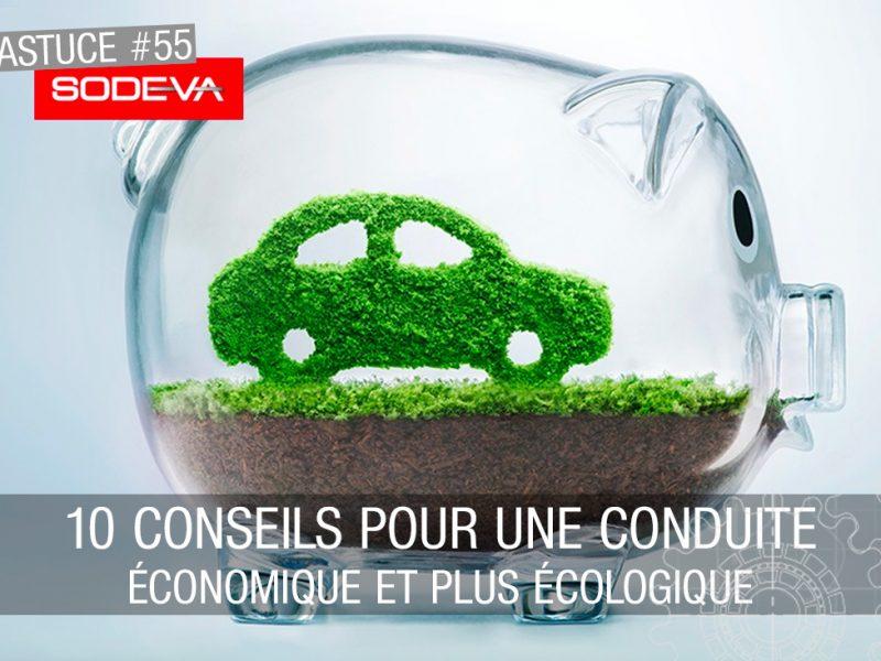10 conseils pour une conduite économique et plus écologique